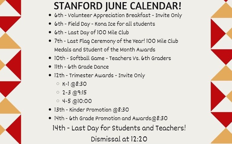 Upcoming Events for End of School Year - article thumnail image
