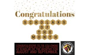 Scholars of the Month for August and September - article thumnail image