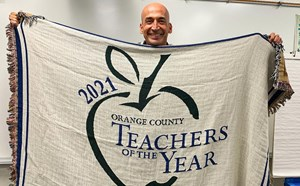 Mr. Lopez: Teacher of the Year - article thumnail image