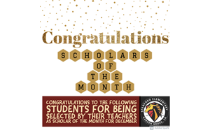 Scholars of the Month for December - article thumnail image